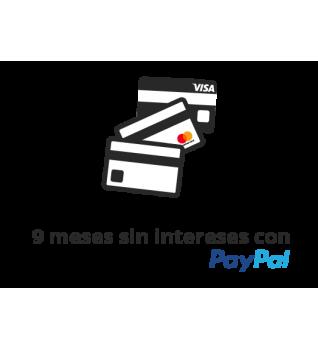 Todas las tarjetas con PayPal