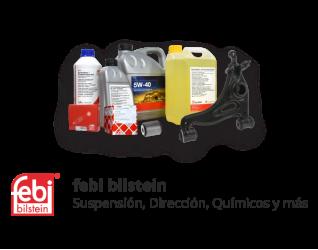 febi - Suspensión, Dirección, Motor, Químicos, Eléctrico