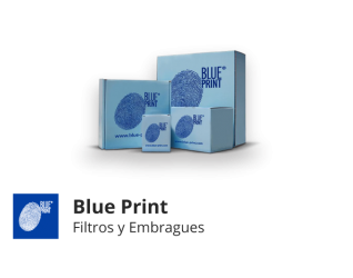 Blue Print - Clutch y Filtros